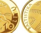 Nauja proginė aukso moneta – baltistikai
