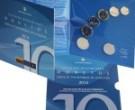 Lietuvos įstojimo į ES ir NATO 10-mečiui atminti – naujasis apyvartinių monetų rinkinys