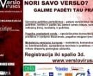 """Kauno kredito unija projekto """"Verslo virusas"""" partnerė"""