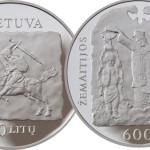 Moneta Žemaitijos krikšto 600 metų jubiliejui